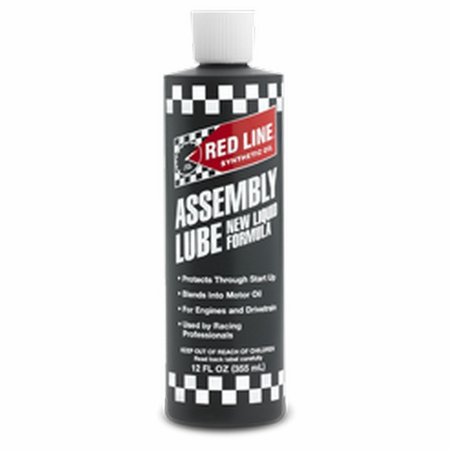 Red Line Liquid Assembly Lube - 12 Ounce