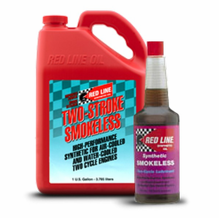 Red Line Smokeless Two-Cycle Lubricant - 16 Ounce