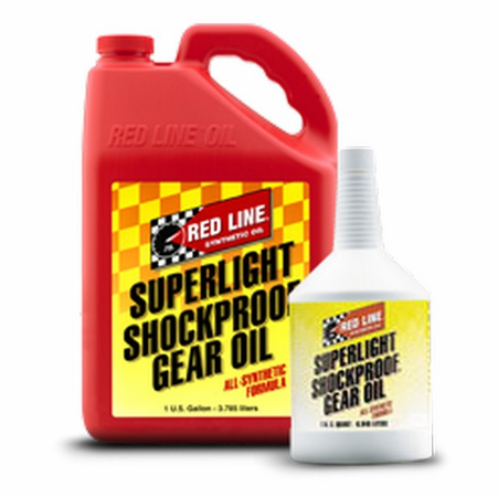 Red Line SuperLight ShockProof Gear Oil - 1 Gallon