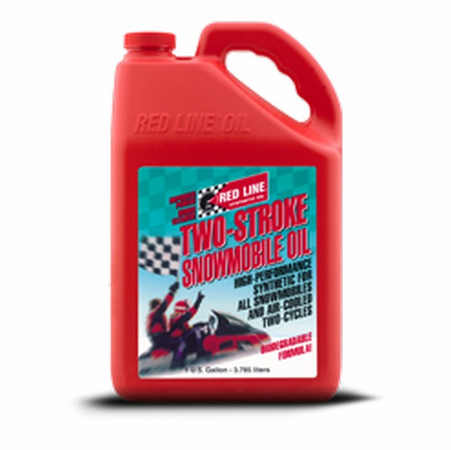 Red Line Two-Cycle Snowmobile Oil - 5 Gallon