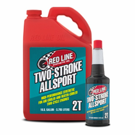 Red Line Two-Stroke AllSport Oil - 16 Ounce