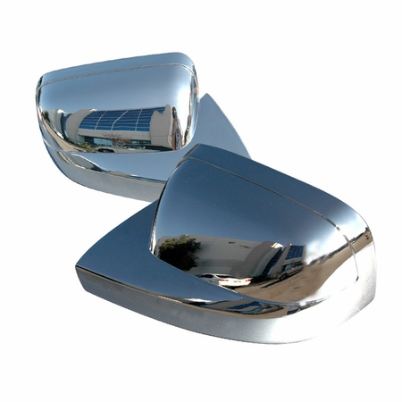 Spec-D 05-08 Ford Mustang Mirror Cover - Chrome