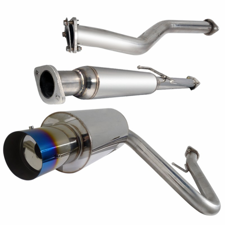 Spec-D 05-10 Scion TC Burnt Tip Catback Exhaust
