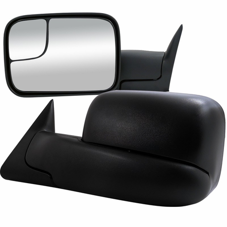 Spec-D 1994-2001 Dodge Ram Towing Side Mirrors (Manual)