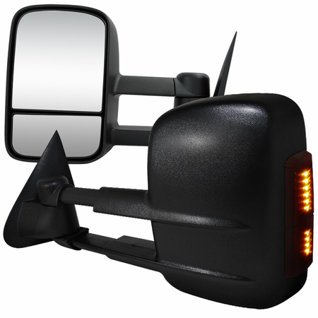 Spec-D 1997-2003 Ford F150/F250 LED Towing Mirrors - Manual
