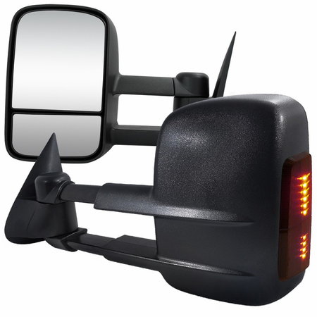 Spec-D 2003-2006 Chevy Silverado/Sierra LED Extending Towing Mirrors (Power)