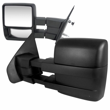 Spec-D 2004-2012 Ford F150 OE Type Towing Mirrors - Manual