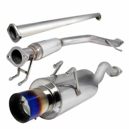 Spec-D 2006-2011 Honda Civic 4Dr Catback Exhaust