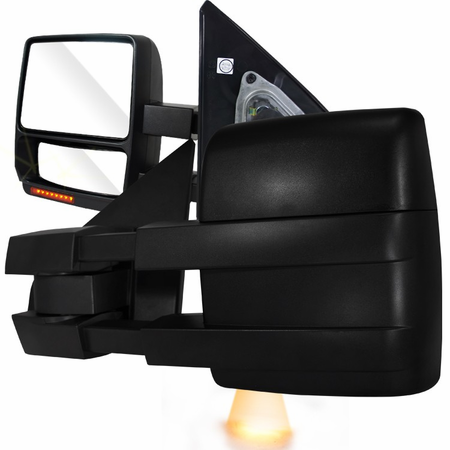 Spec-D 2007-2014 Ford F150 OE Type Towing Mirrors - Power