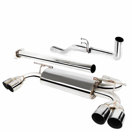 Spec-D 2009-2014 Hyundai Genesis Coupe 2.0T Stainless Steel Catback Exhaust