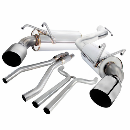 Spec-D 2010-2015 Chevy Camaro Stainless Steel Catback Exhaust System