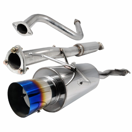 Spec-D 90-93 Honda Accord Titanium Tip Catback Exhaust