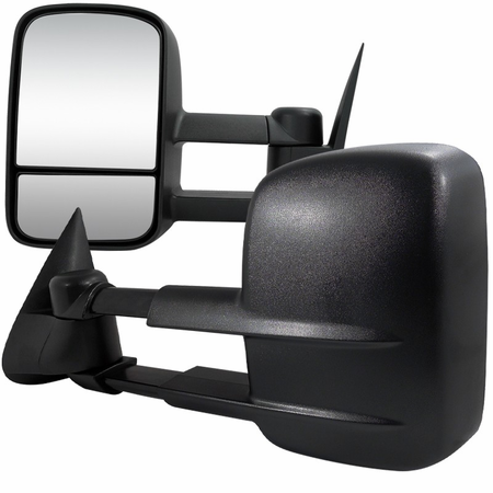 Spec-D 99-02 Chevy Silverado Extending Towing Mirrors w/Heated Function - Power