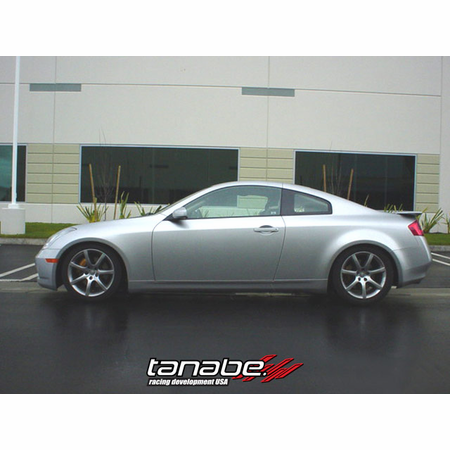 Tanabe DF210 Lowering Springs 03-07 Infiniti G35 Coupe (V35)