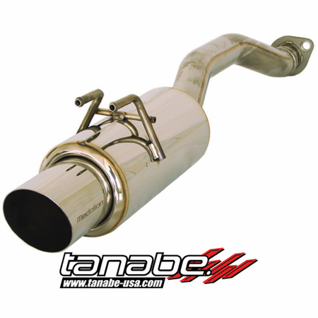 Tanabe Medalion Concept G Exhaust System 06-11 Honda Civic Coupe Si