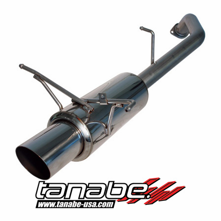 Tanabe Medalion Concept G Exhaust System 07-09 Nissan Sentra SE-R Spec-V