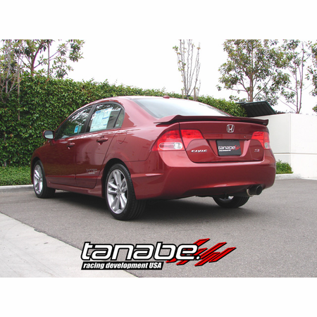 Tanabe Medalion Concept G Exhaust System 07-11 Honda Civic Coupe Si Sedan