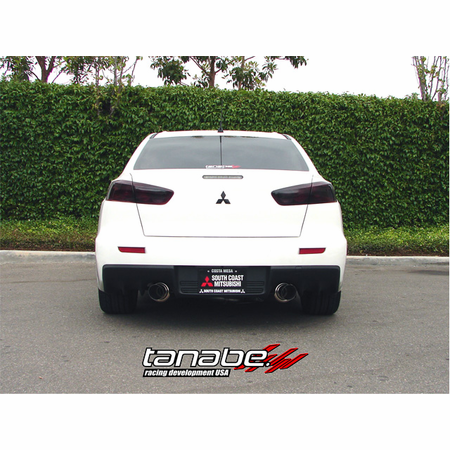 Tanabe Medalion Concept G Exhaust System 08-13 Mitsubishi Lancer EVO10