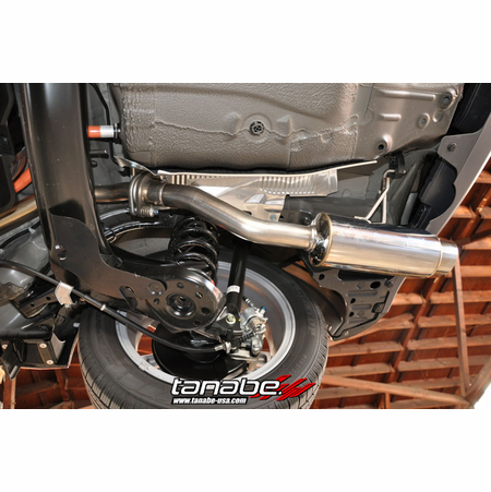Tanabe Medalion Concept G Exhaust System 11-12 Honda CRZ