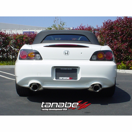 Tanabe Medalion Touring Exhaust System 00-05 Honda S2000