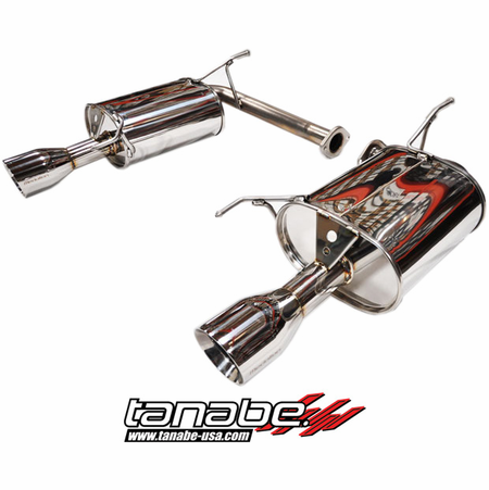Tanabe Medalion Touring Exhaust System 01-03 Acura TL Type S