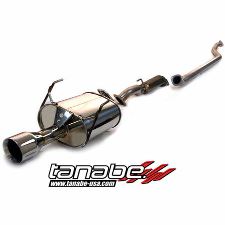 Tanabe Medalion Touring Exhaust System 01-05 Honda Civic Coupe DX/LX