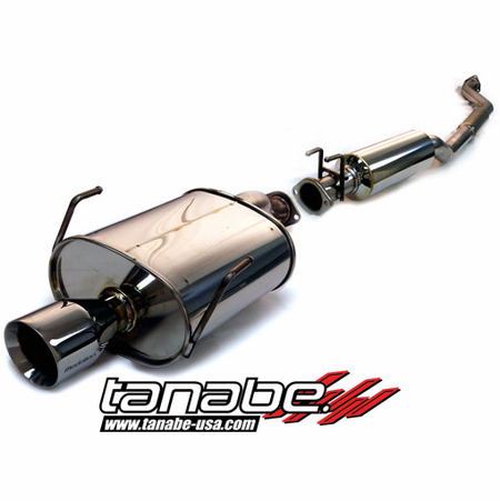 Tanabe Medalion Touring Exhaust System 02-05 Honda Civic SI Hatchback