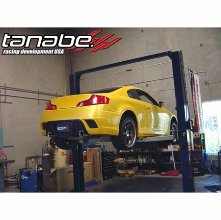 Tanabe Medalion Touring Exhaust System 03-07 Infiniti G35 Coupe