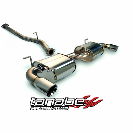 Tanabe Medalion Touring Exhaust System 04-08 Mazda RX-8