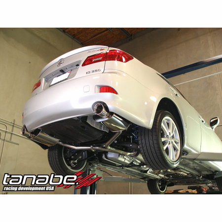 Tanabe Medalion Touring Exhaust System 06-11 Lexus IS350