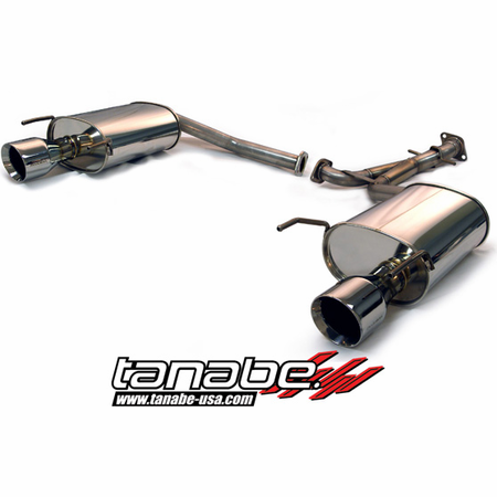 Tanabe Medalion Touring Exhaust System 07-11 Lexus GS350