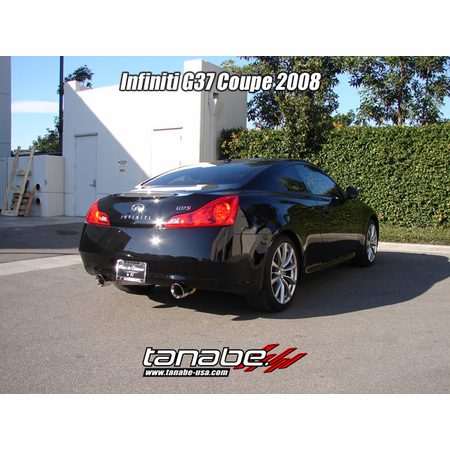 Tanabe Medalion Touring Exhaust System 08-12 Infiniti G37 Coupe