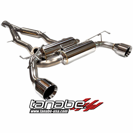 Tanabe Medalion Touring Exhaust System 09-12 Nissan 370Z