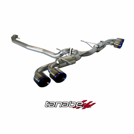 Tanabe Medalion Touring Exhaust System 09-13 Nissan GT-R