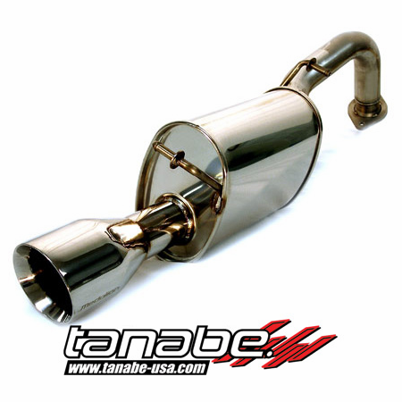 Tanabe Medalion Touring Exhaust System 12-13 Toyota Yaris 5-Door