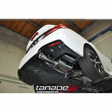 Tanabe Medalion Touring Exhaust System 13-13 Honda Civic Si Sedan
