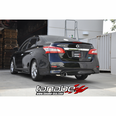 Tanabe Medalion Touring Exhaust System 13-13 Nissan Sentra