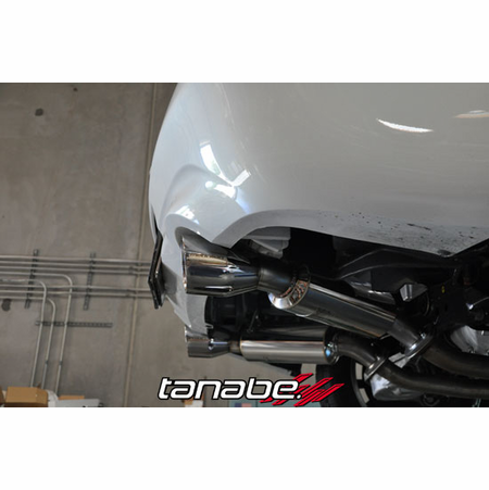 Tanabe Medalion Touring Exhaust System 14-14 Infiniti Q60 2WD
