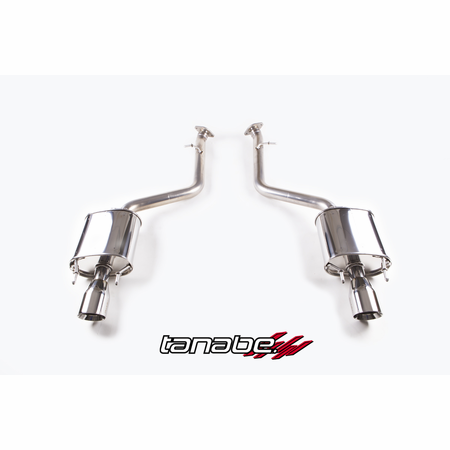 Tanabe Medalion Touring Exhaust System 14-14 Lexus IS350