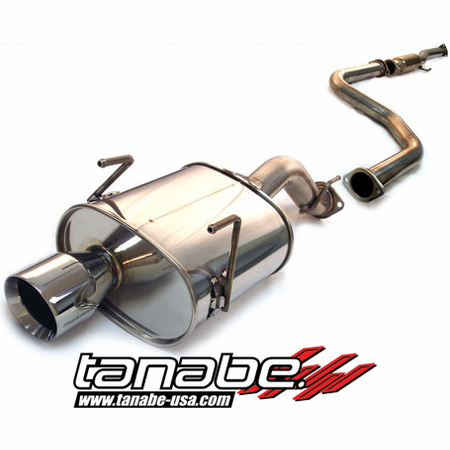 Tanabe Medalion Touring Exhaust System 92-95 Honda Civic Hatchback