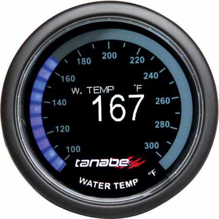 Tanabe Revel VLS 52mm OLED Water Temperature Gauge