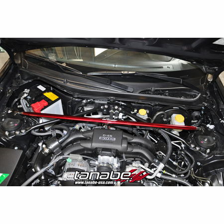 Tanabe Sustec Strut Tower Bar Front 13-13 Scion FRS
