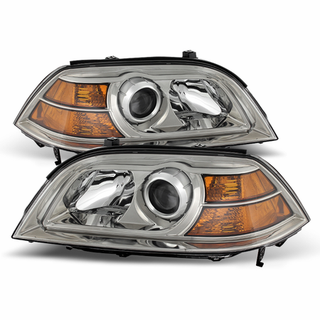 Xtune Acura MDX 2004-2006 Crystal Headlights - Chrome