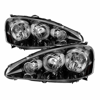 Xtune Acura RSX 2005-2006 OEM Style headlights -Black