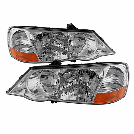 Xtune Acura TL 2002-2003 HID Model Only OEM Style headlights - Chrome