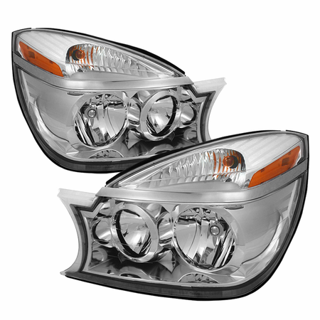 Xtune Buick Rendezvous 02-07 Crystal Headlights - Chrome