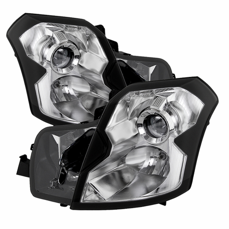Xtune Cadillac CTS 03-07 Crystal Headlights - Halogen Model Only ( Not Compatible With Xenon/HID Model ) - Chrome