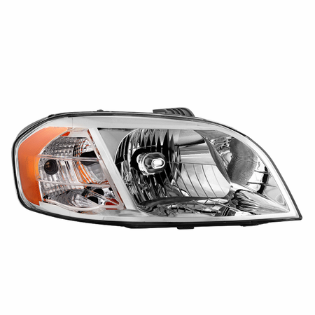 Xtune Chevy Aveo 07-11 Notchback Model Only ( Don't fit Hatchback Models ) / Pontiac G3 2009 Notchback Models / Pontiac Wave 07-09 Notchback Models Passenger Side Headlight -OEM Right