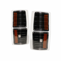 Xtune Chevy C/K Pickup 94-98 Amber Corner Lights 4 PCS - Black