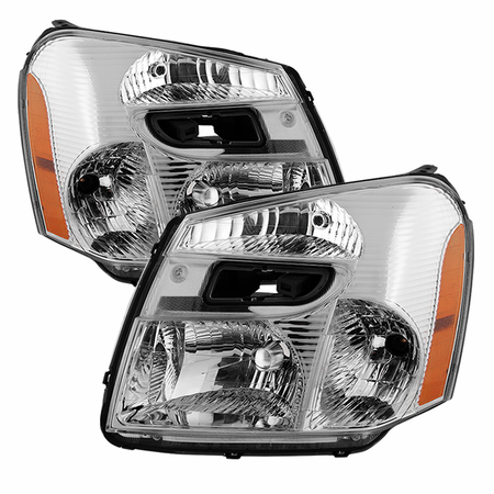 Xtune Chevy Equinox 05-09 OEM Style headlights - Chrome